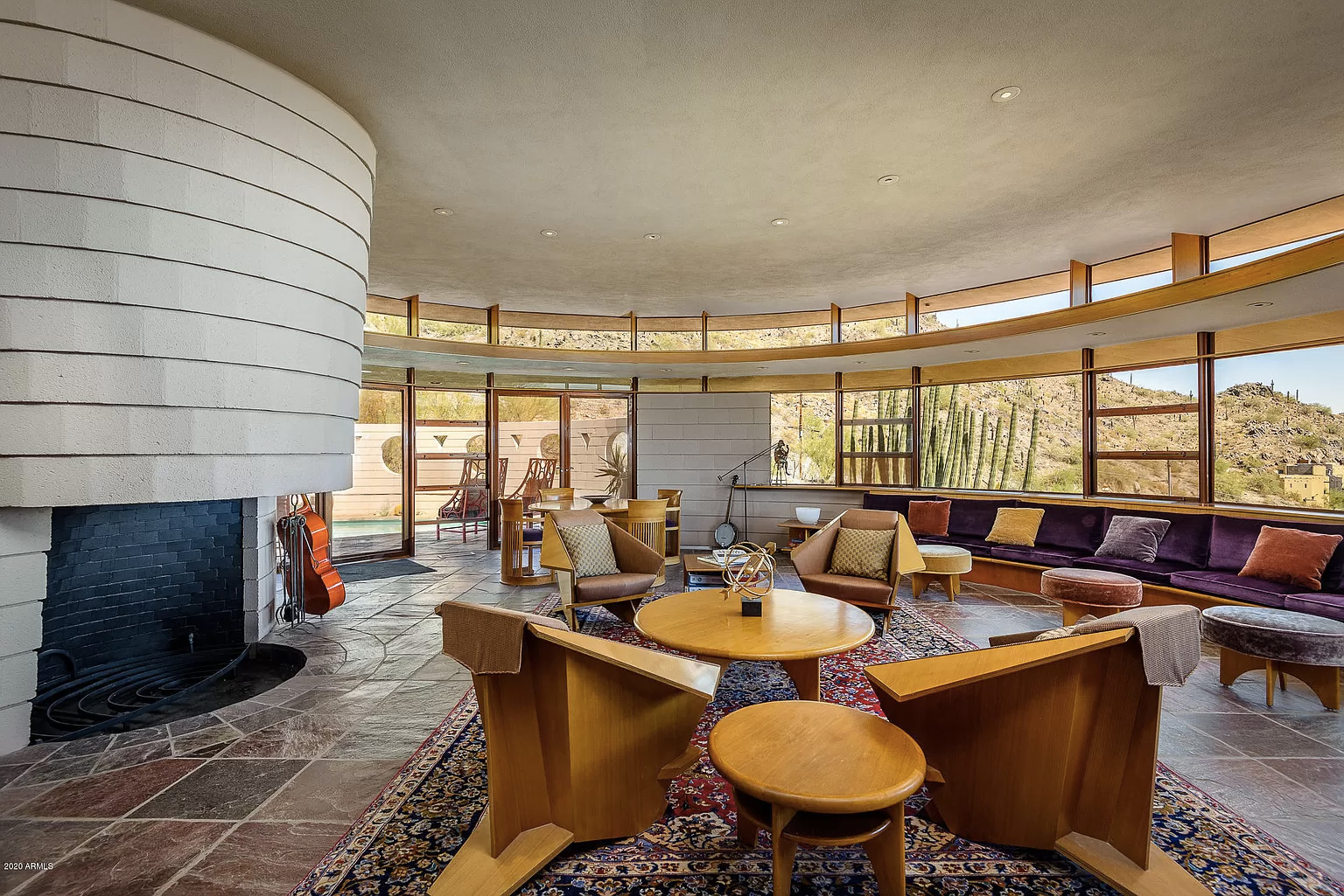 Frank Lloyd Wright's last home The Norman Lykes Residence is for sale