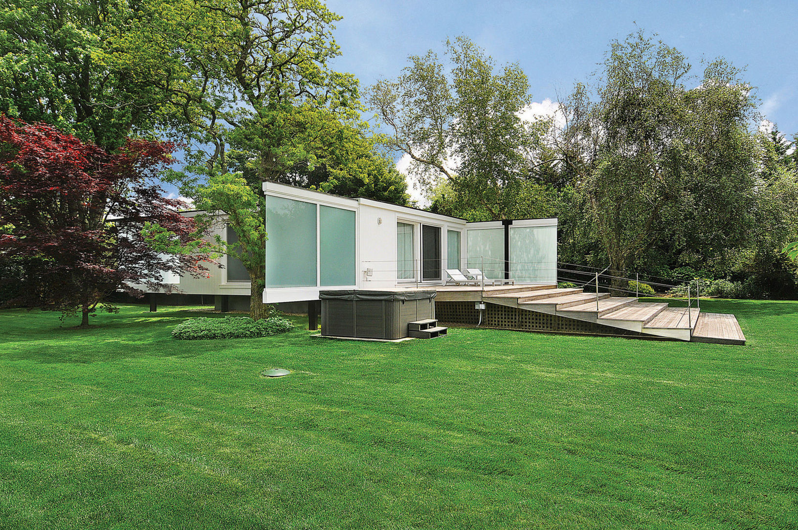 Peter Blake's seminal Pinwheel House is for rent in the Hamptons