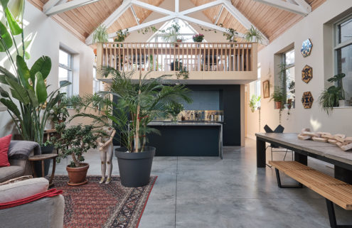 An ex-Mission hall hides huge volumes in South London