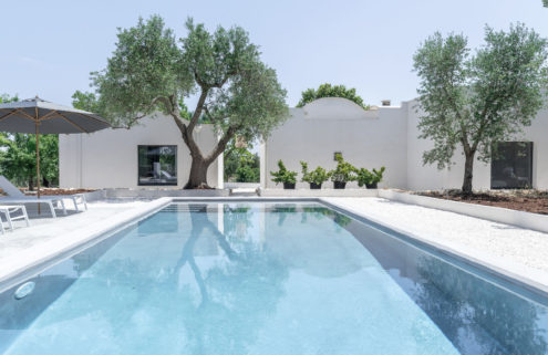 Villa Puglia brings Scandinavian minimalism to the Italian countryside