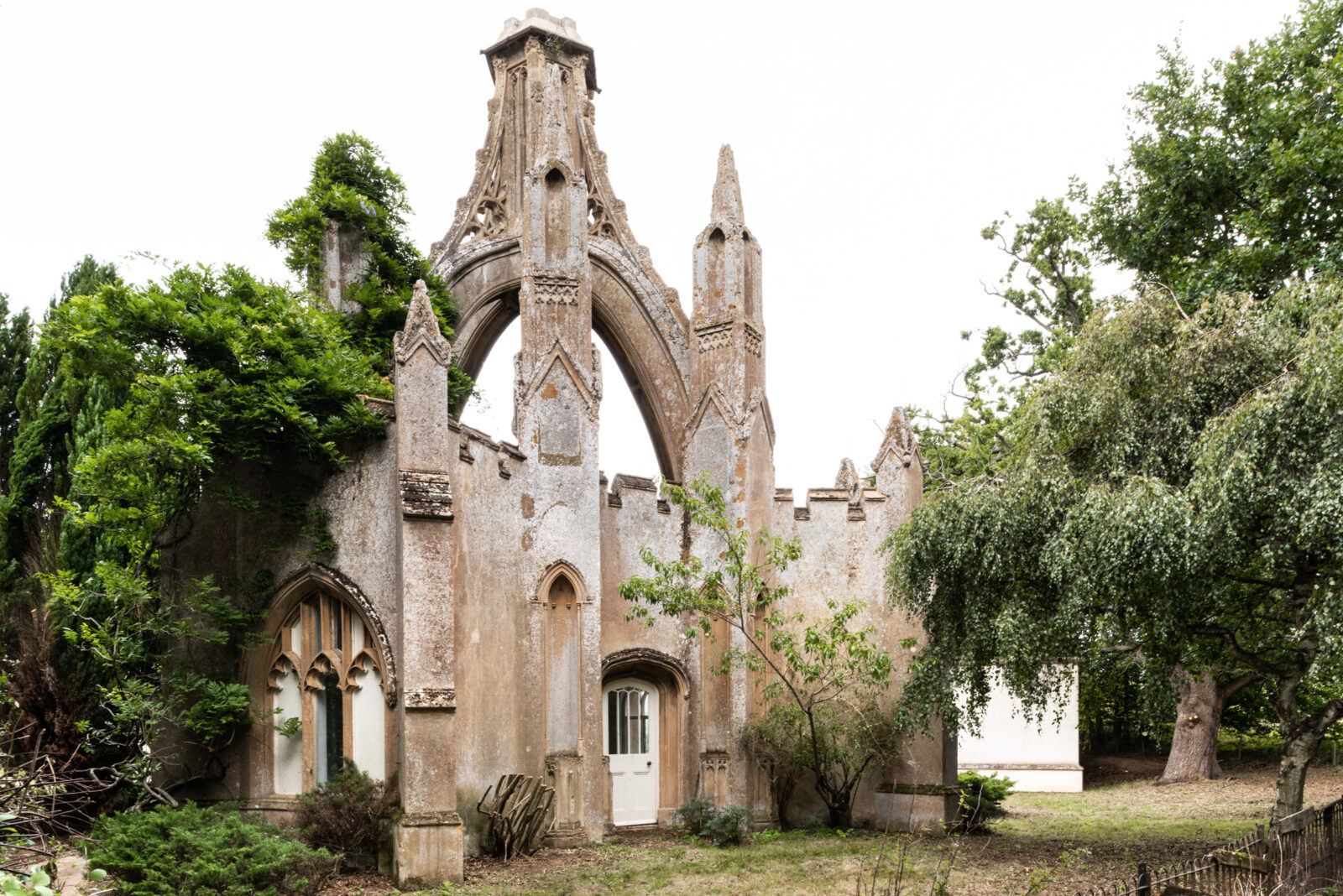 Woodbridge Lodge – a remarkable folly home is for sale in the Suffolk countryside