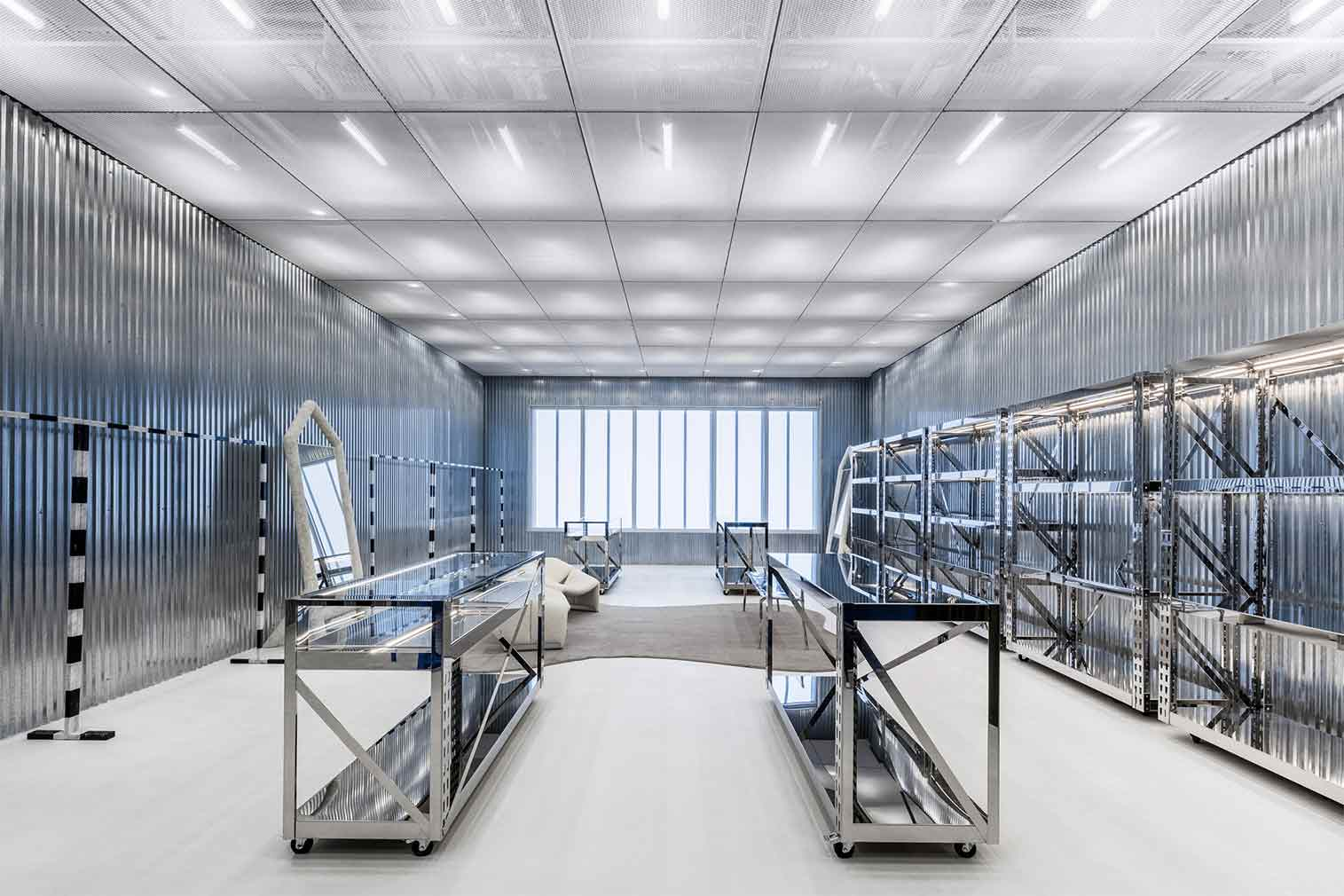Off-White's Miami flagship is an industrial wonderland