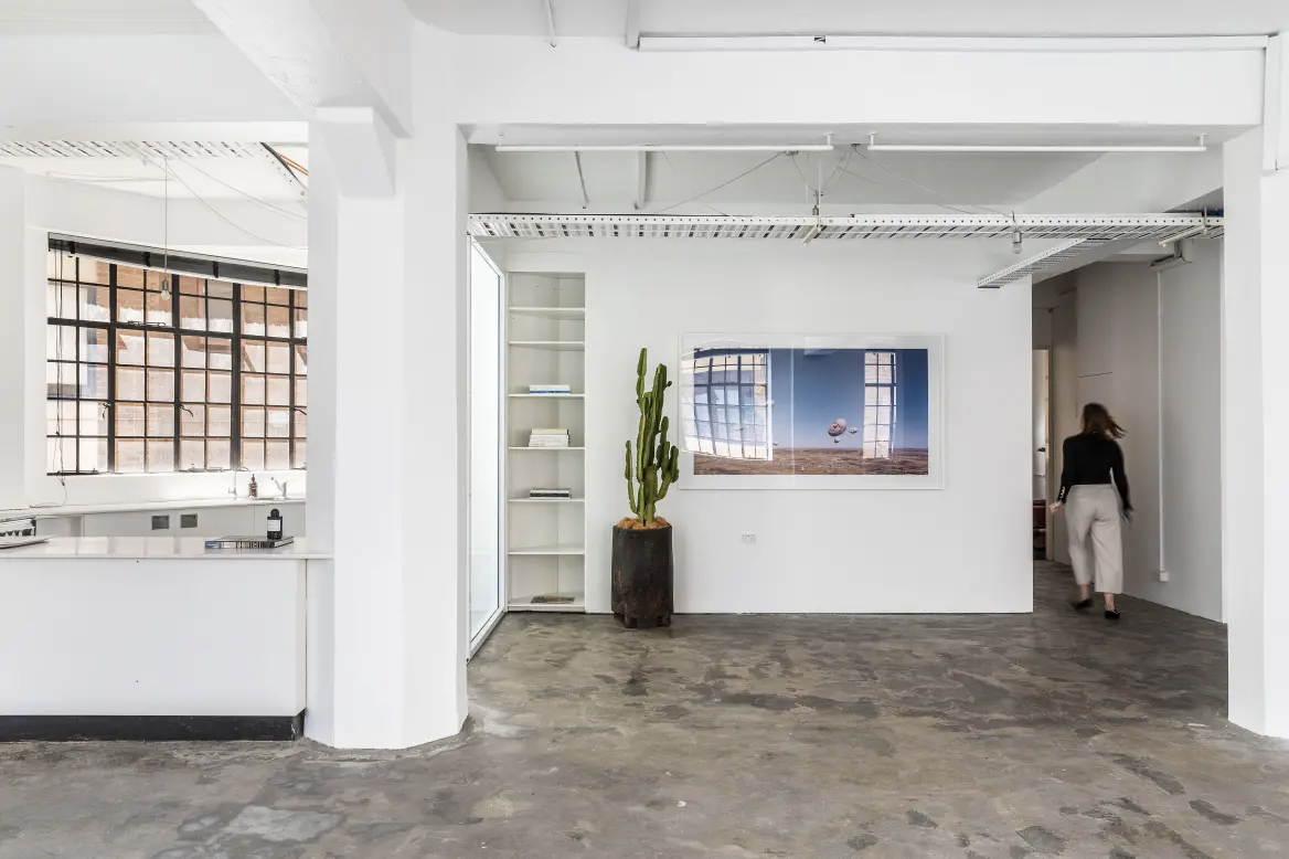 Raw concrete warehouse heads for auction in Sydney's Surry Hills