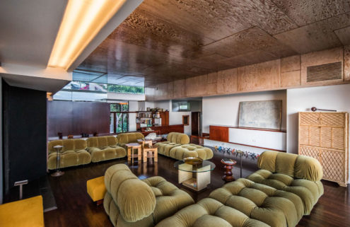 Rudolph Schindler's restored S T Falk Apartments building is for sale in LA
