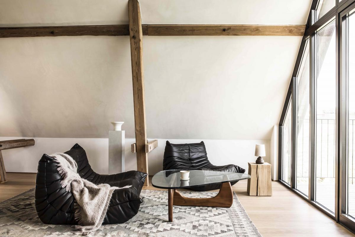 TypeO loft – the one-room B&B is set in the depths of the Swedish countryside