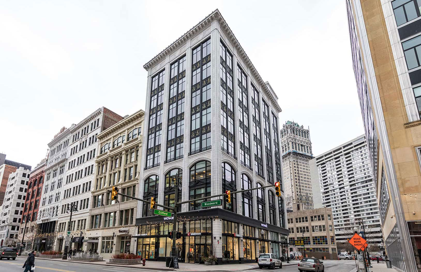 Woodward Building. Photography via Bedrock Detroit