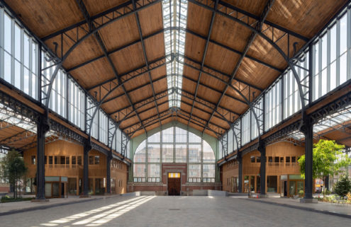 Brussels' 113-year-old Gare Maritime terminus is revived as a neighbourhood hub