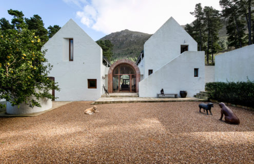 South African artist Wilma Cruise puts her Cape Town home on the market