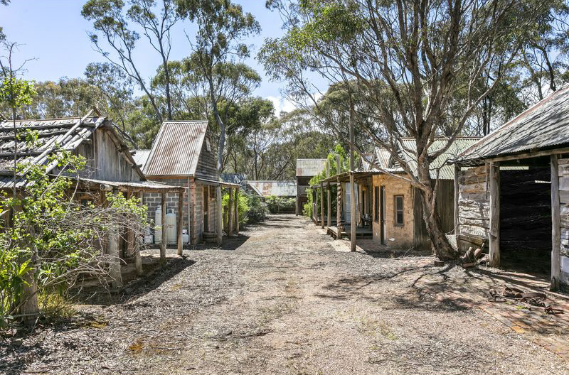 Porcupine Village, a complex of 40 colonial-style buildings in Victoria on sale for 1.75m AUD.