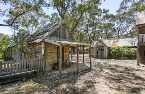 Gold rush village is for sale in Australia's Victoria