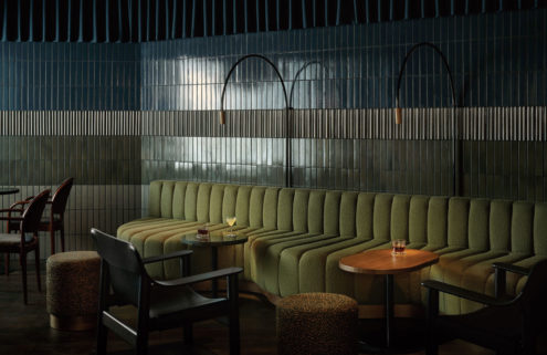 Helsinki's Bardem cocktail bar channels moody Nordic noir vibes