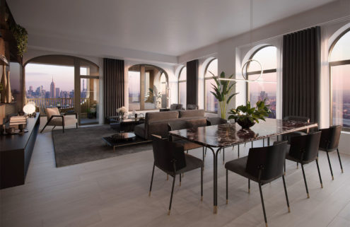 Sir David Adjaye partners with Aston Martin on five lavish NY apartments