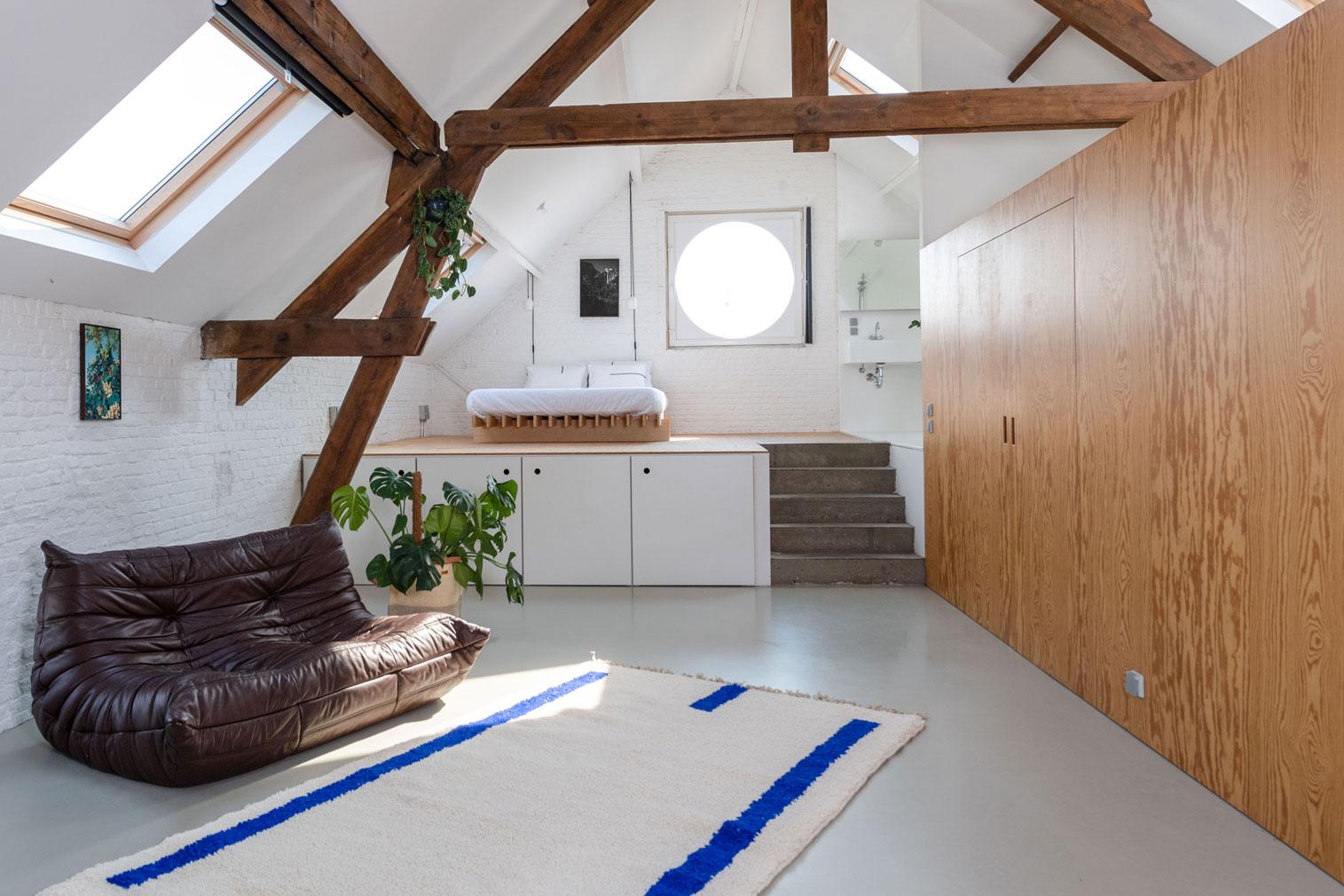 This minimalist Antwerp loft is a showroom you can sleep in
