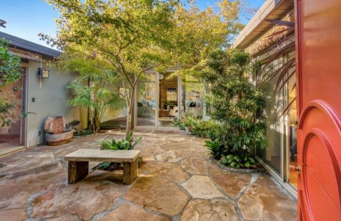 Remodeled A-frame Eichler near San Rafael comes with a 'secret garden'