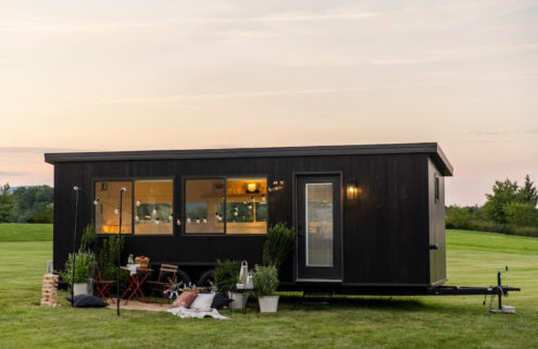 Ikea unveils its first sustainable tiny home