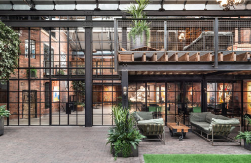 Is this converted textile factory in Birmingham the ultimate live/work space?