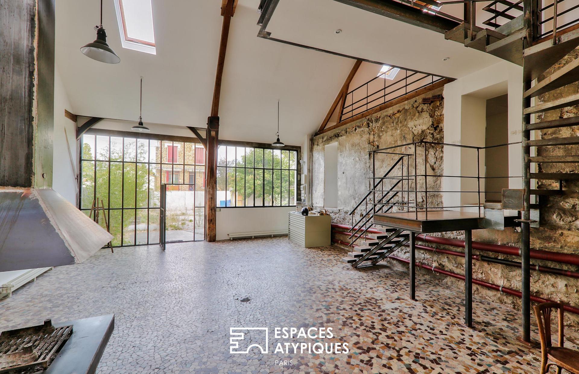 Former shed turned loft, Villeneuve-le-Roi