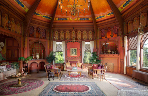 Map magnate's opulent Queen Anne home is for sale at the foot of the San Gabriel mountains