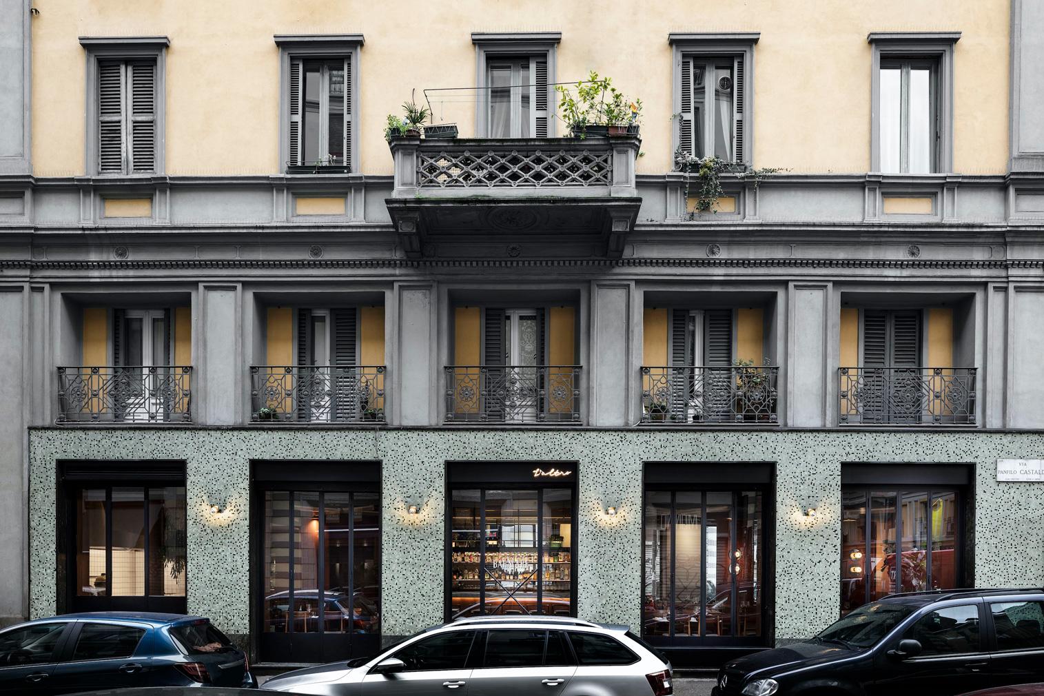 Milan's Barmare l'Altro restaurant has a nautical flare