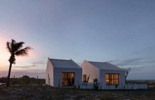 Casa Modico offers spartan living on Brazil's northeast coast