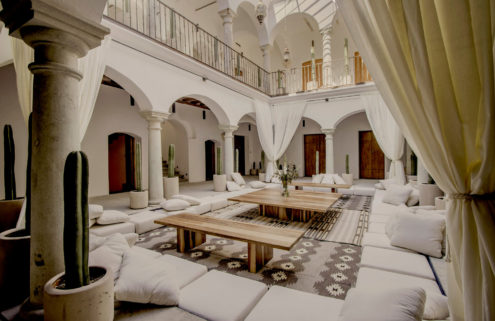 Hotel Sin Nombre brings new life to a colonial Oaxaca City mansion