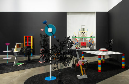 'Memphis Plastic Fields' exhibition celebrates rebellious postmodern design