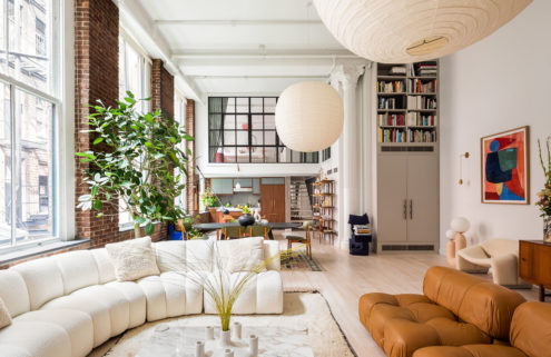 A trio of minimalist Manhattan lofts on the market right now