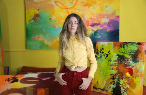 Colorado's colour queen: in the studio with artist Romelle