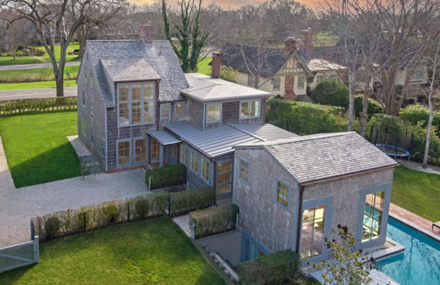 Old meets new at this East Hamptons Saltbox house
