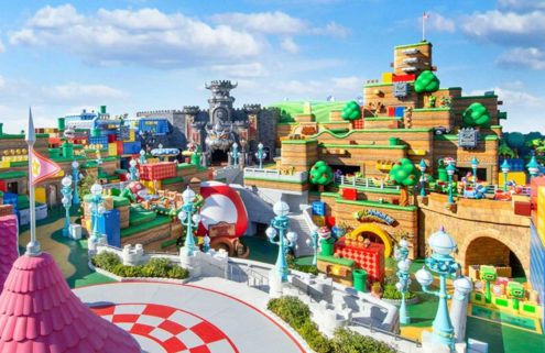 The first Super Nintendo World is opening in Osaka