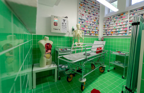 Lucy Sparrow transforms London's Lyndsey Ingram Gallery into The Bourdon Street Chemist