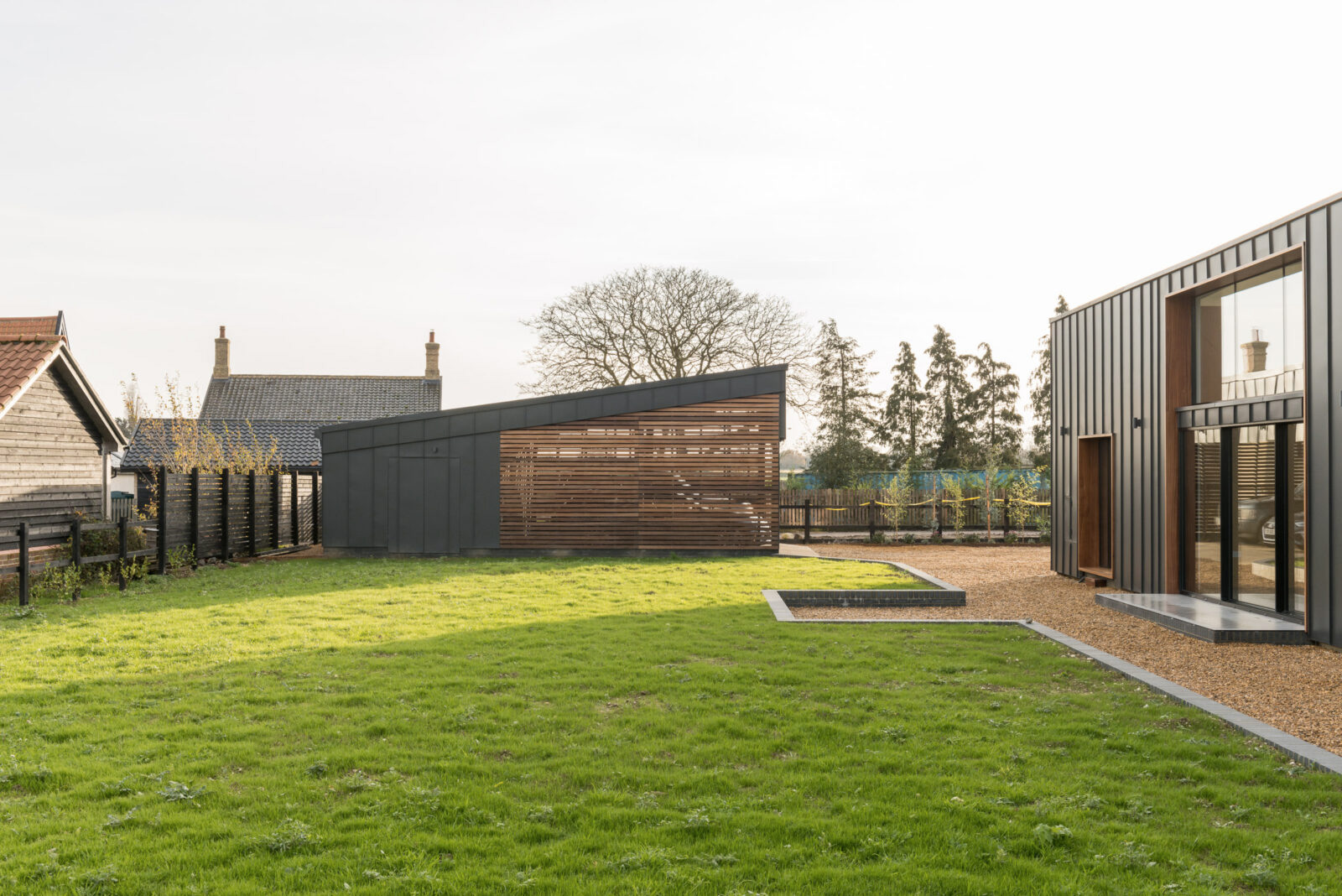 The Long Barn in Norfolk is designed by Studio Gray