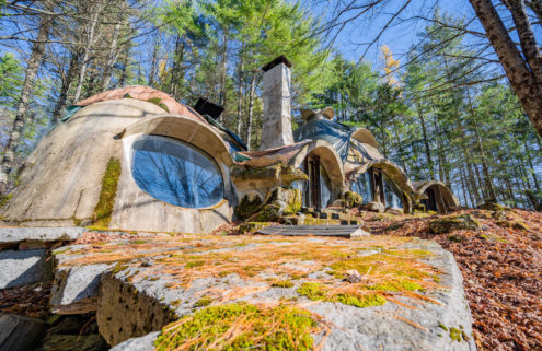 Robert Chapelle's Vermont earth house lists for the first time ever