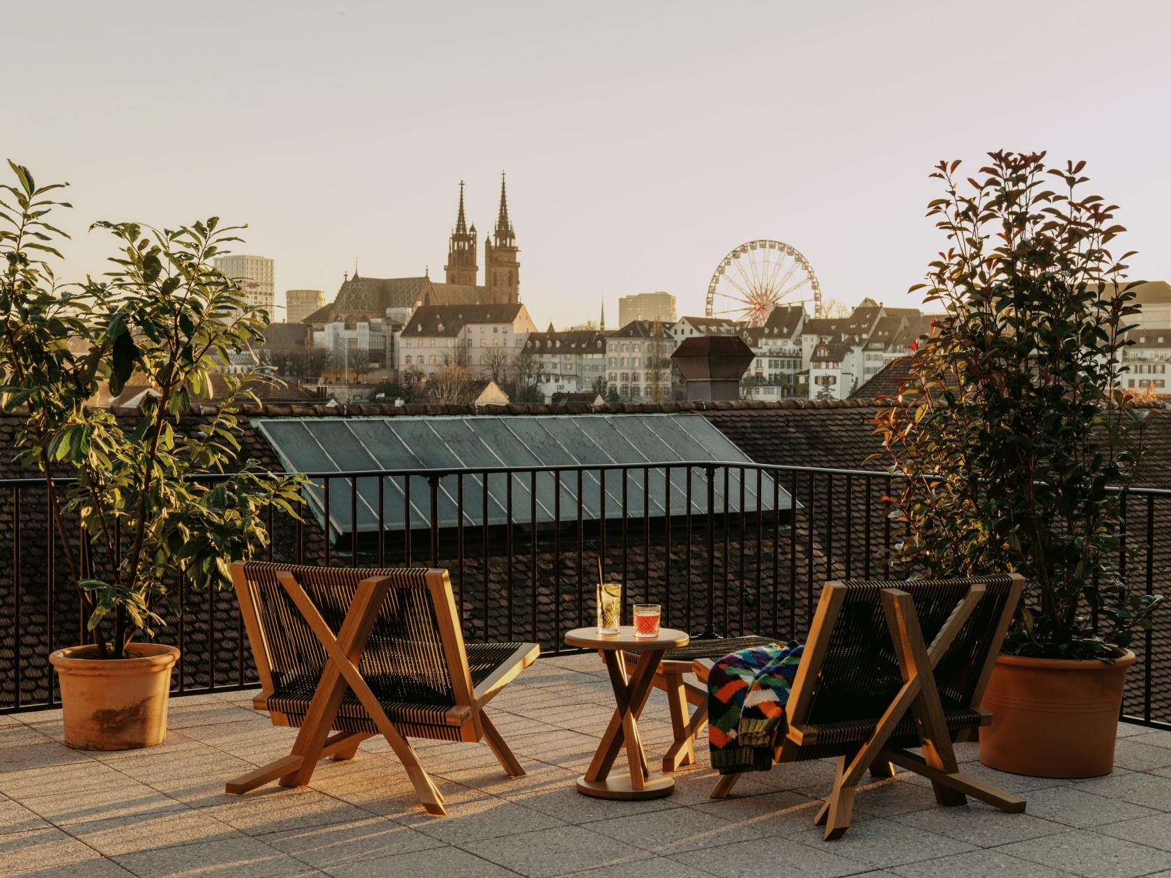 Basel's historic Volkshaus complex has reopened as a hotel