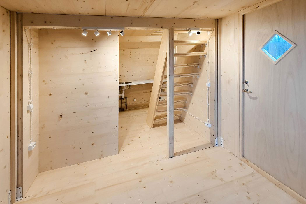 'Origami' tiny home Brette Haus unfolds in 3 hours