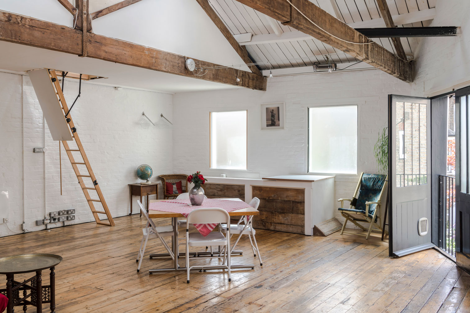 Renovation challenge: a rustic converted workshop in South London
