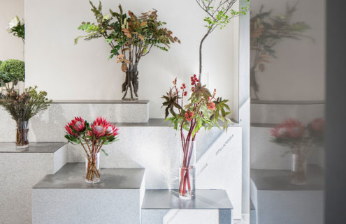 This Shanghai flower shop is a gallery for plants and bouquets