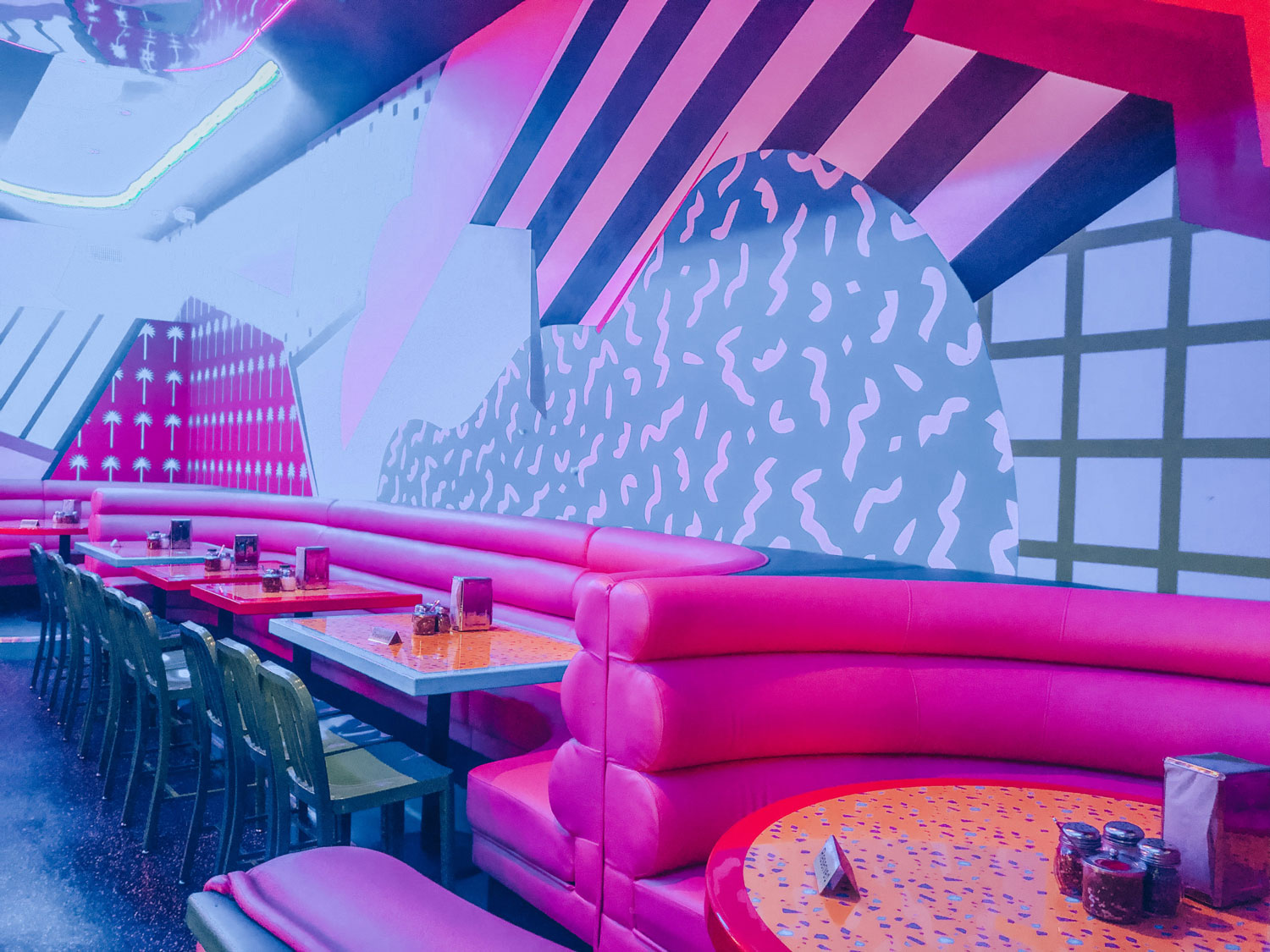 Game Over is an LA pizza joint that's straight out of the 80s
