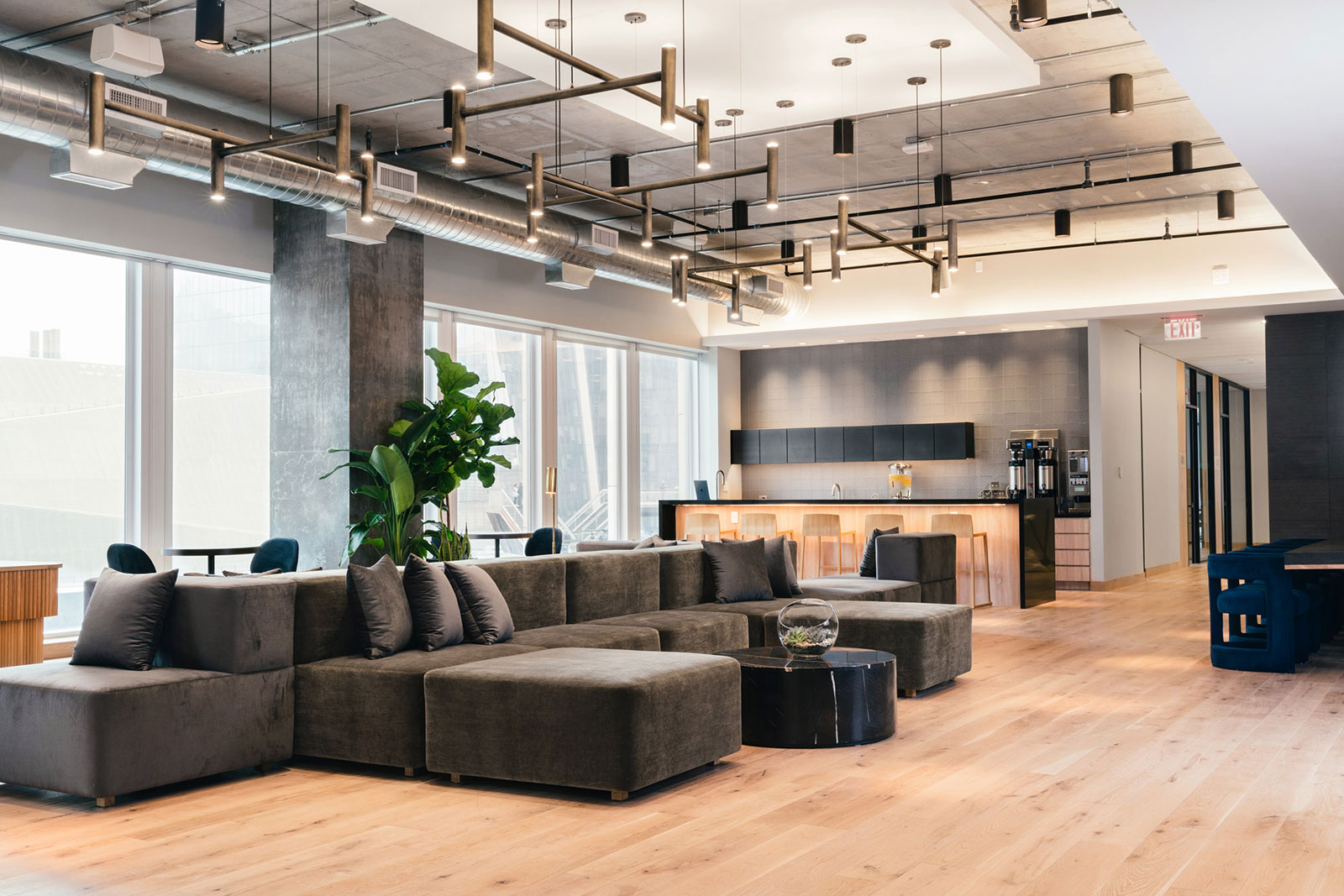 Industrious coworking space in New York's Hudson Yards
