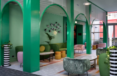 Wellington's Naumi Studio Hotel is a joyful pattern overload