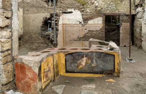 Perfectly preserved Pompeii snack bar reveals what the Roman ate
