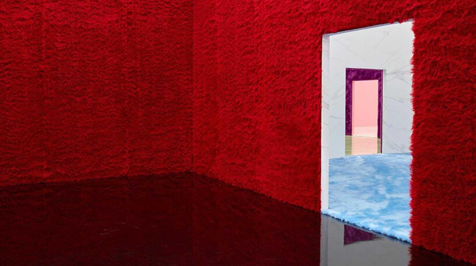 Rem Koolhaas' Prada F/W 2021 menswear set