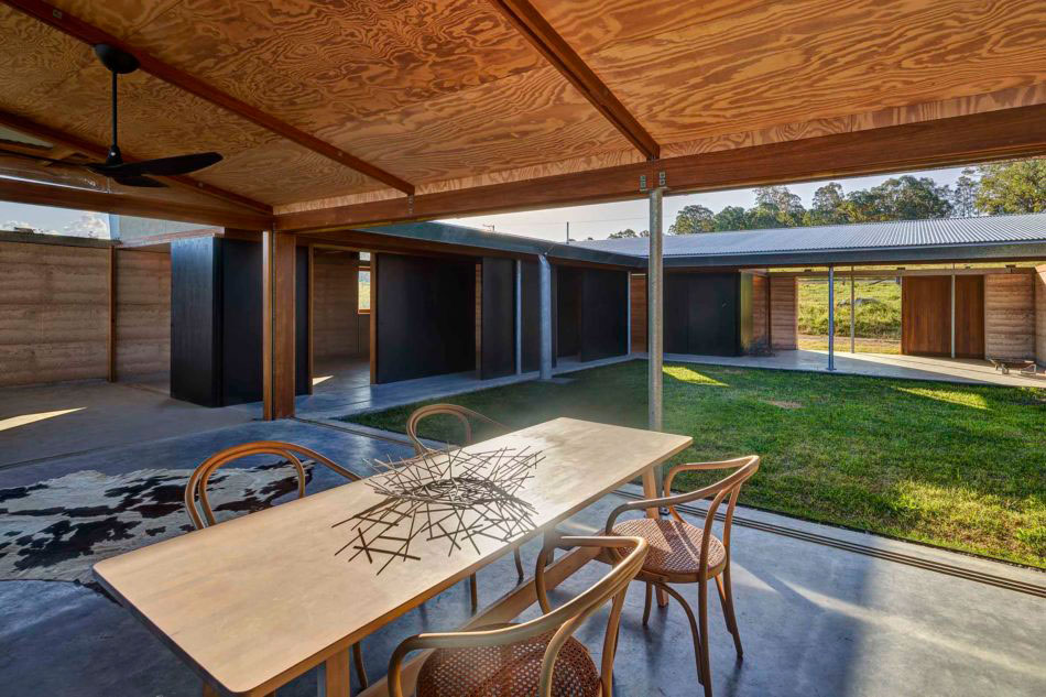 Sacred Mountain House is an inside-out country villa in Australia's Hunter Valley