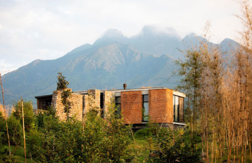 Volcanic views and gorilla-trekking are on offer at Rwanda's Singita Kwitonda Lodge