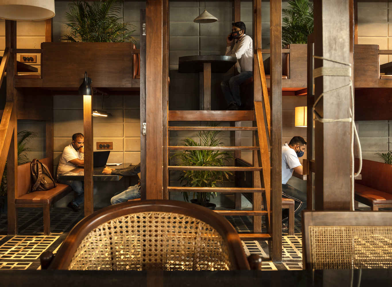 India's first Covid-responsive restaurant has social distancing built-in