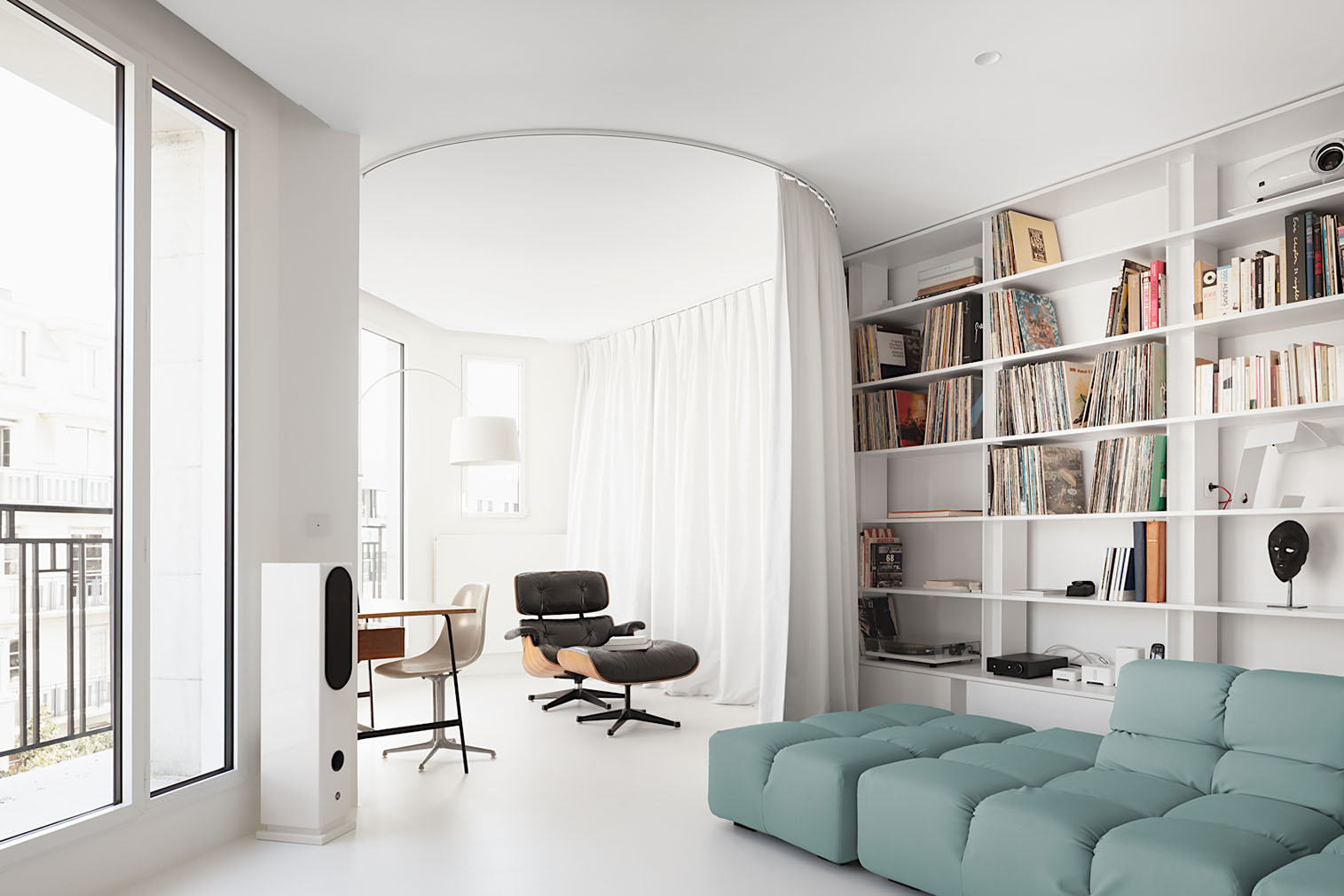 Apartment S in Paris by Heros Architecture