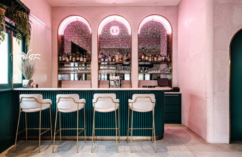Malta's Barbajean restaurant is a jewellery-box of colours