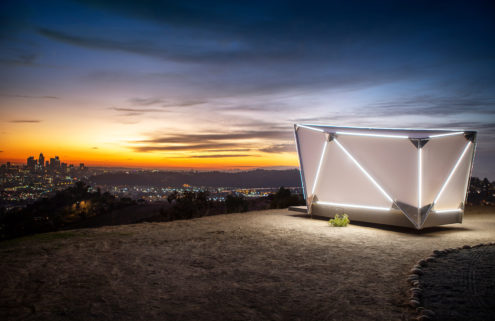 The Jupe pod is a sci-fi take on off-grid living