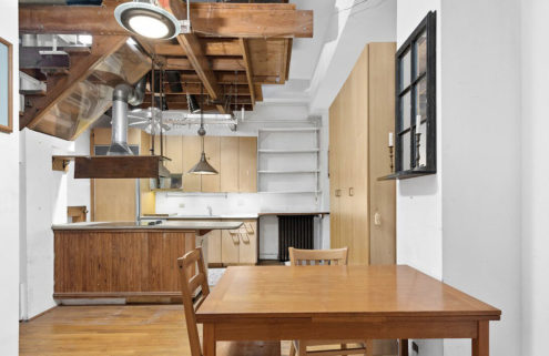 A quirky art deco apartment lists for under $350k in Manhattan
