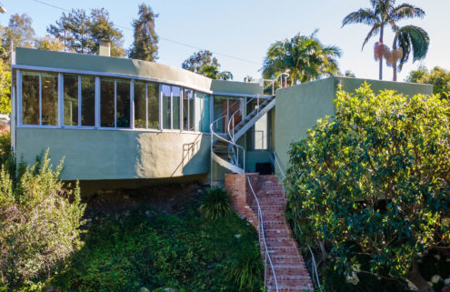 Pint-sized piano studio by Richard Neutra lists for the first time ever